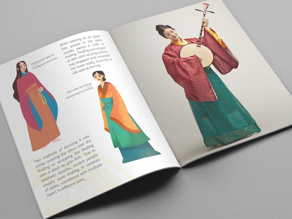 Gây quỹ cộng đồng xuất bản cuốn sách tái hiện trang phục thời Lê sơ
