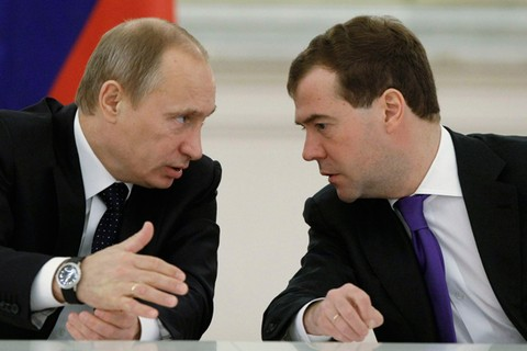 Ông Putin hay Medvedev sẽ tranh cử Tổng thống Nga năm 2018?