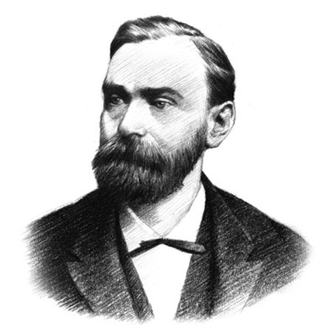 Alfred Nobel and the Nobel Prize history legend